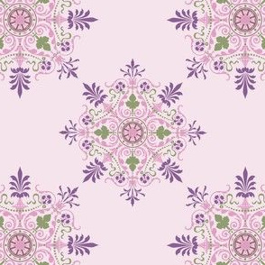 Victorian Parlor - Purple/Pink