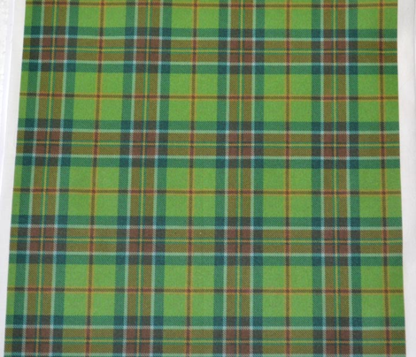 Olive and Forest Plaid