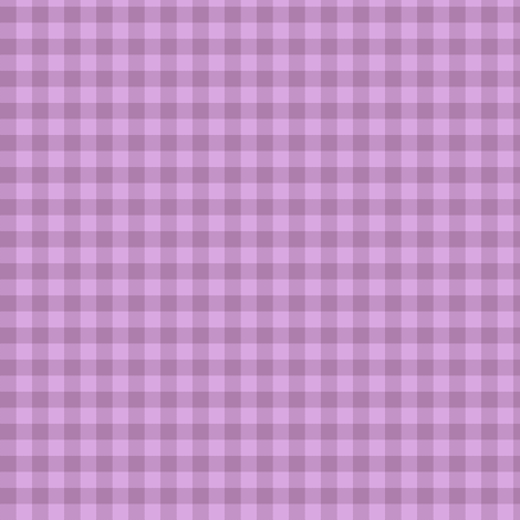 lilac dusk gingham fabric by weavingmajor on Spoonflower - custom fabric