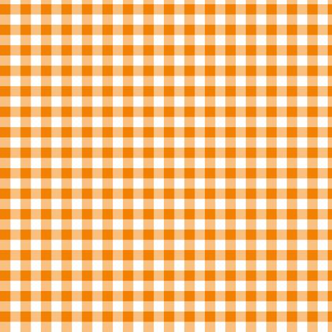 marigold gingham