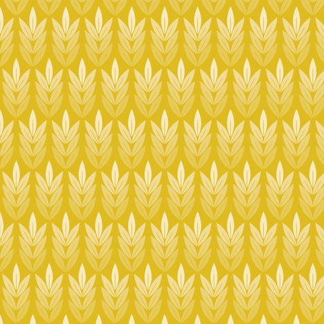 Tassel (Gold) fabric by pennycandy on Spoonflower - custom fabric
