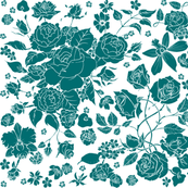 Flowery One Color 1
