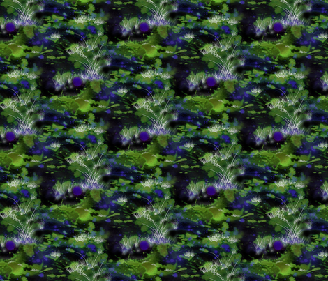 Night Brook fabric by siya on Spoonflower - custom fabric