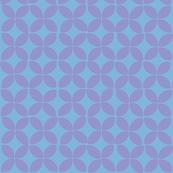 petals (lilac on blue)