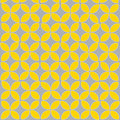 petals (yellow on gray)