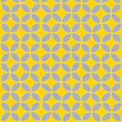 petals (gray on yellow)