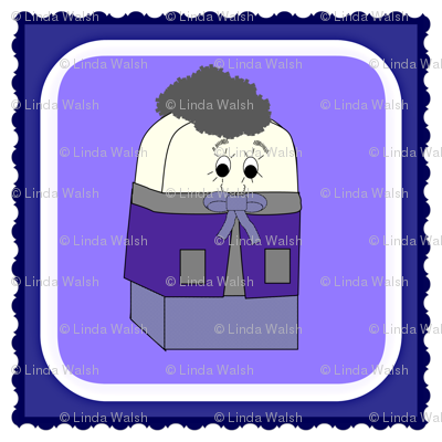 Spike A Peek Doll Square