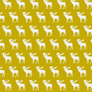 Gold moose