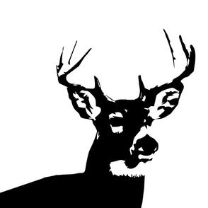 Black Buck // Pillow Covers