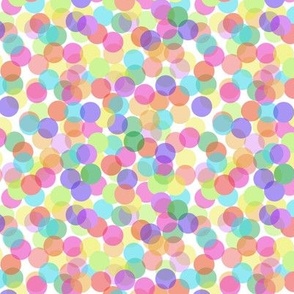 Rainbow Flurry Small