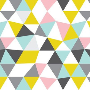 Quirky geometric pastels