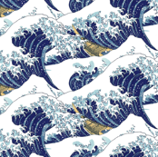 the endless waves of Hokusai