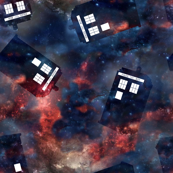 WibblyWobbly Police Box in Space