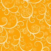 Gallifrey Scroll Yellow