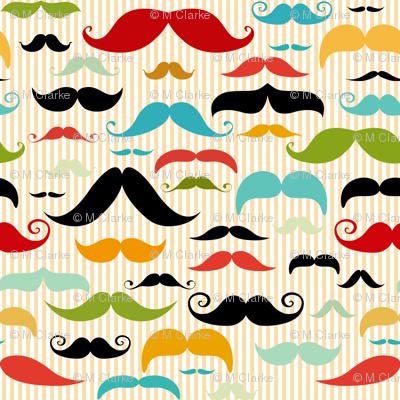 Mustache Stripe