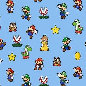 Cute Super Mario