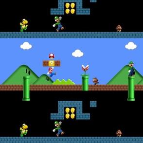 Super Mario Levels