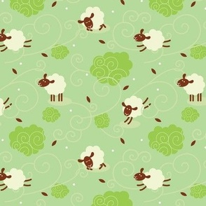 Counting Sheep Green