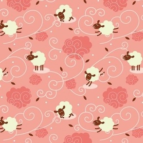 Counting Sheep Pink