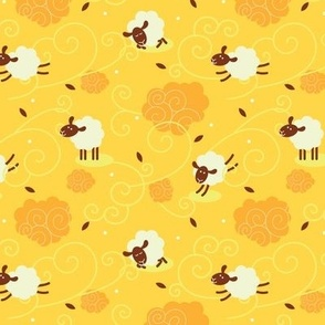 Counting Sheep Yellow