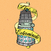 Live to Exterminate Dalek Tattoo