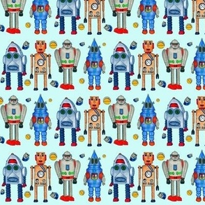 Retro Tin Robot Usual Suspects