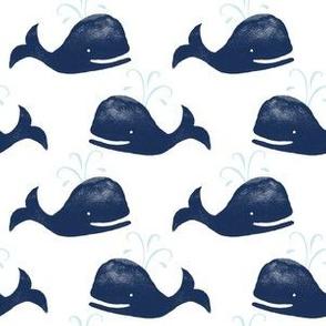 Happy whales