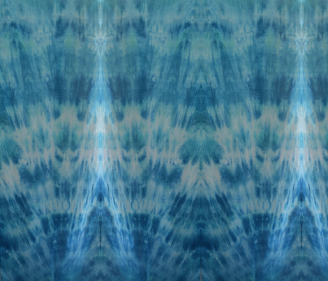 Aqua Shibori