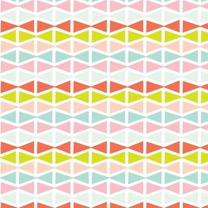 Pastel modern geometric