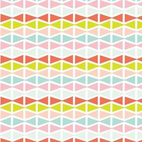 Pastel modern geometric