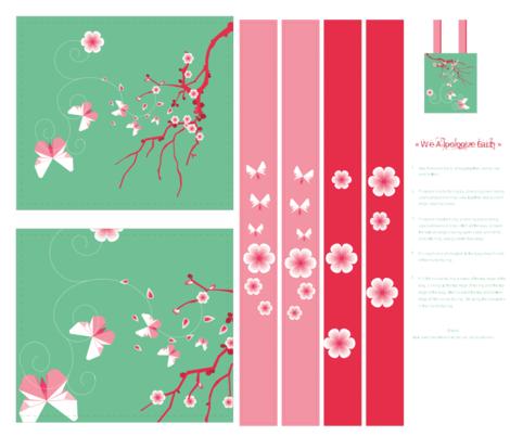 we apologize Earth fabric by fanny-bonenfant on Spoonflower - custom fabric