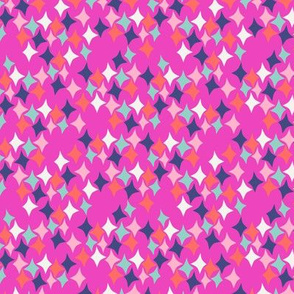 Diamonds (hot pink)
