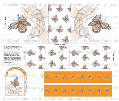EarthdayBagButterfly