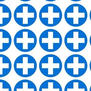 Circles and cross