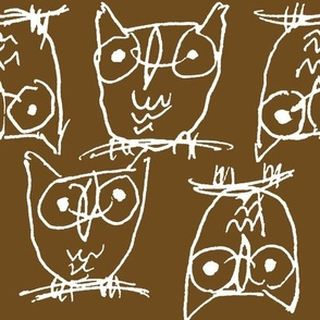 BROWN OWLIES