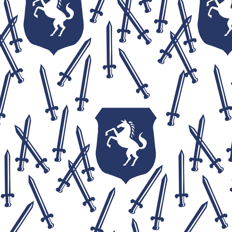 knightly fabric by katherinecodega on Spoonflower - custom fabric