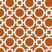 Round Trellis - Brown