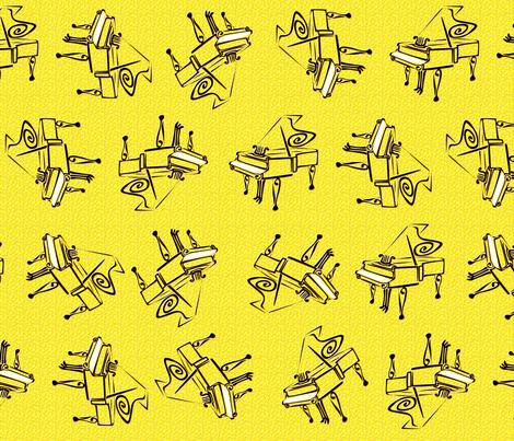 piano adante flourish lemon