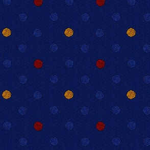 fairy dots 3 red gold blue