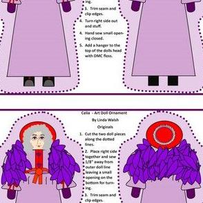 Celia Art Doll Cut and Sew Doll