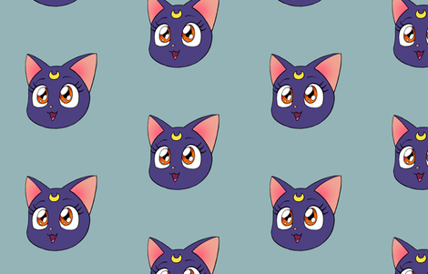 Luna fabric by aimee on Spoonflower - custom fabric