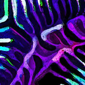 Brain Coral 2 Purple-Large