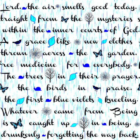 Lord the air smells good fabric by keweenawchris on Spoonflower - custom fabric