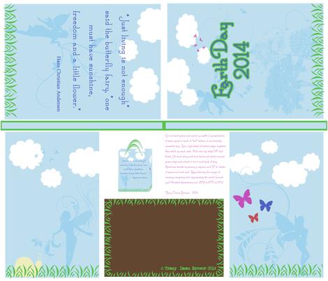 Earth Day Magic 2014 fabric by tracydb70 on Spoonflower - custom fabric