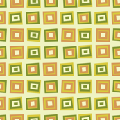 Green and Orange Squares