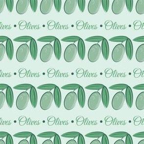 Aqua Olives