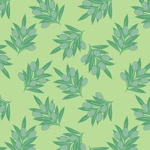 Aqua Olive Branch
