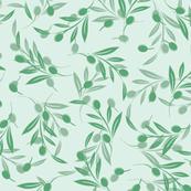 Aqua Olives Scatter