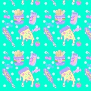 Kawaii Bright Junk Food Fluro Fairy Kei