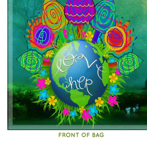 Earth Day Bag fabric by tiffanyhoward on Spoonflower - custom fabric